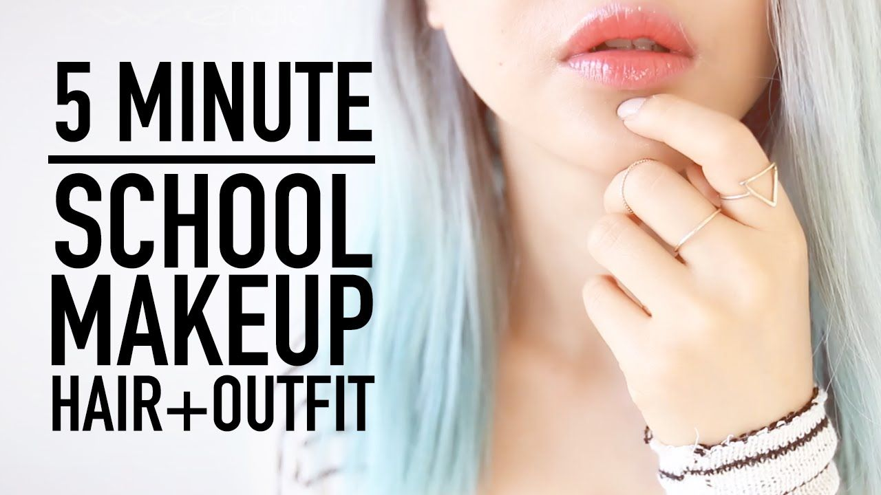 It's back to school time for some of you guys! And for those of you already in school here are some tips to apply your makeup faster get your hair ready with...
