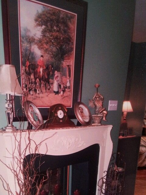 Green Mountain/ antique Fireplace