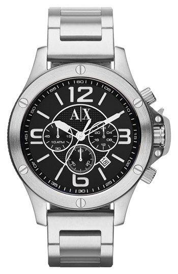 5ee9e6074a3 AX Armani Exchange Chronograph Bracelet Watch