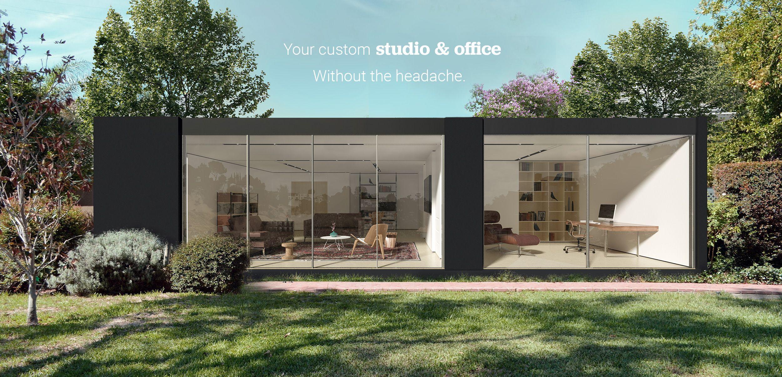 Backyard Cottage Prefab Design House Plan Affordable: Cover 3500 Per Square Meter