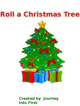 Students Will Roll Two Dice Add Them Together And Follow Directions To Decorate A Christmas Tre Christmas Tree Images Christmas Tree Clipart Christmas Images