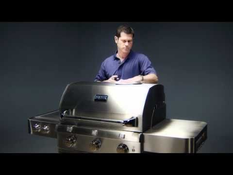 Saber Infrared Grill Cleaning video - Available at THE BBQ SHOP
