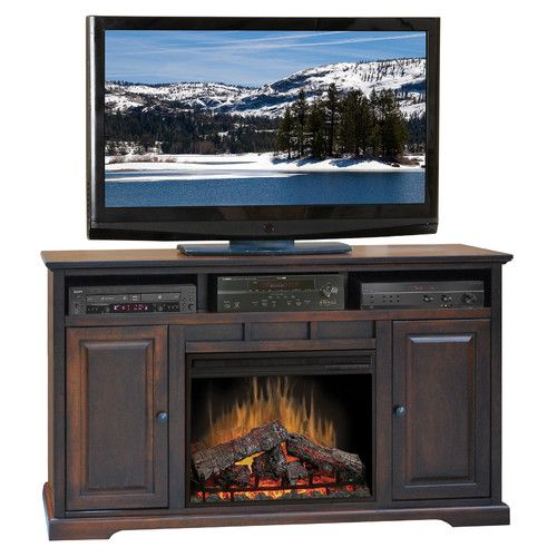 Legrand Tv Stand For Tvs Up To 70 With Electric Fireplace Included Fireplace Tv Stand Electric Fireplace Tv Stand Legends Furniture Electric fireplace tv stand combo