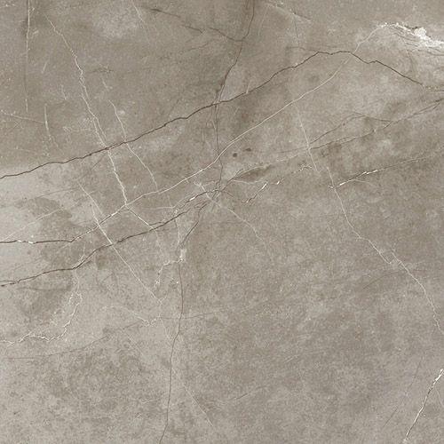 A dark grey Carrara marble effect large format ultrathin