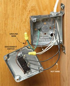 Electrical Wiring How To Run Power Anywhere Diy Electrical Electrical Wiring Diy Home Improvement