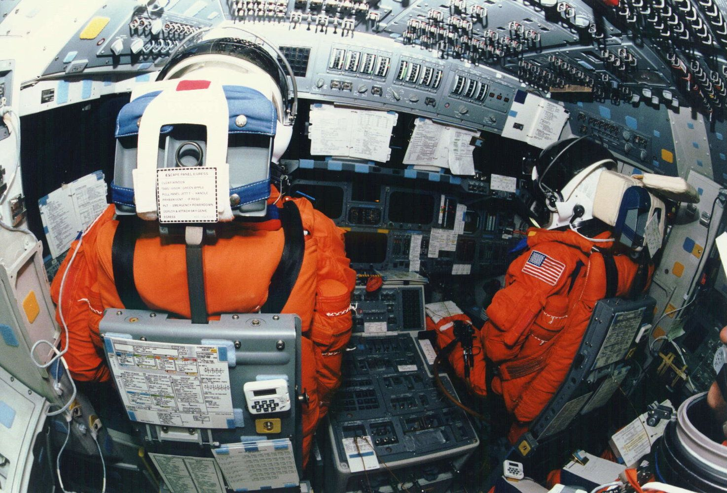 Two space shuttle veterans compare their old rides to