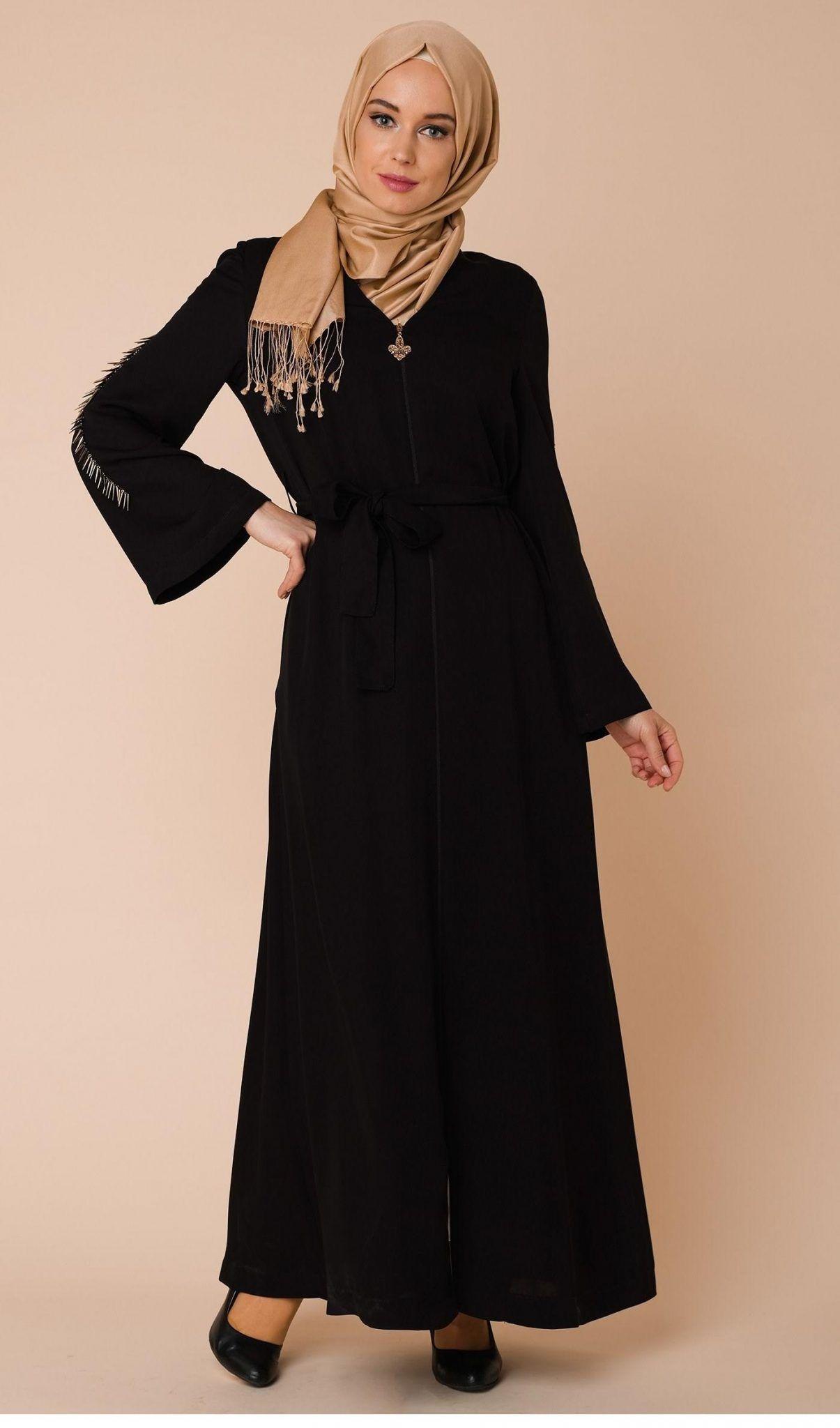 Dress brokat modern 2018 black