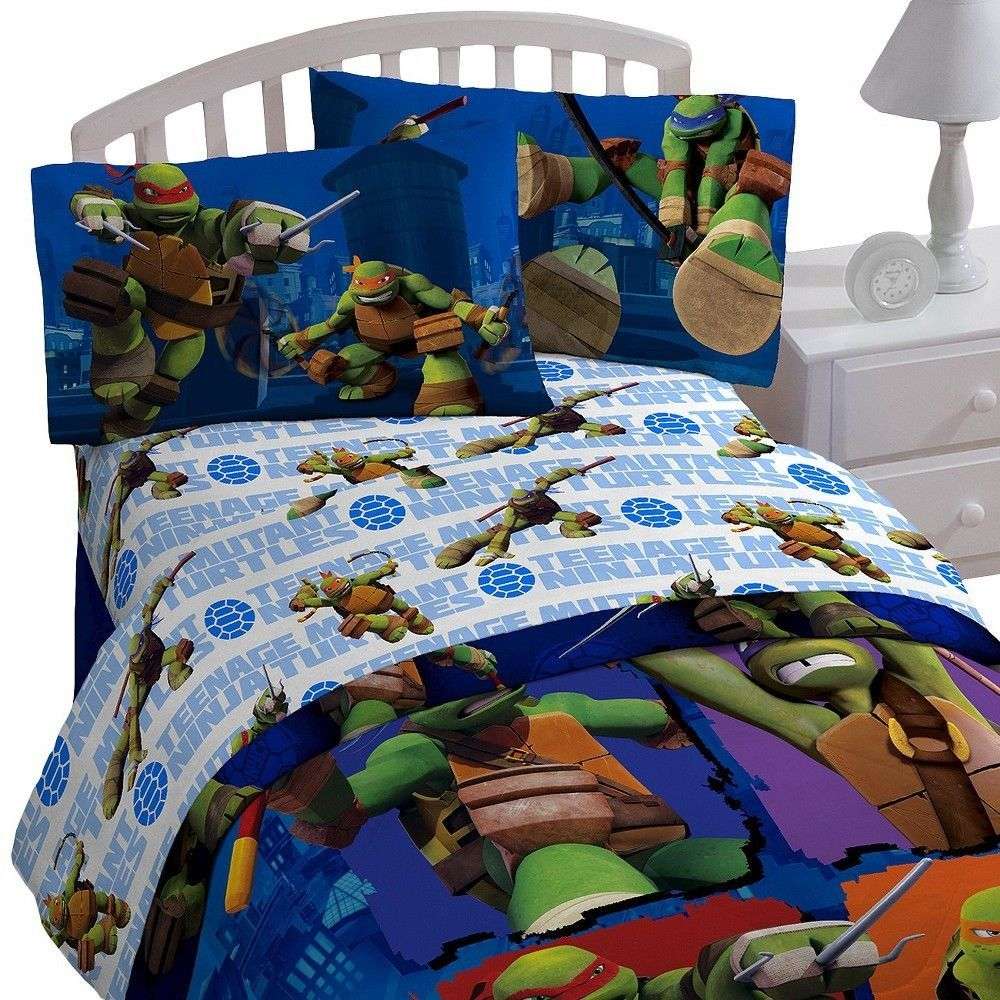 Möbel Wohnen Teenage Mutant Ninja Turtles Microfiber Twin Comforter Sheet Set Blanket New Canadiana Cz