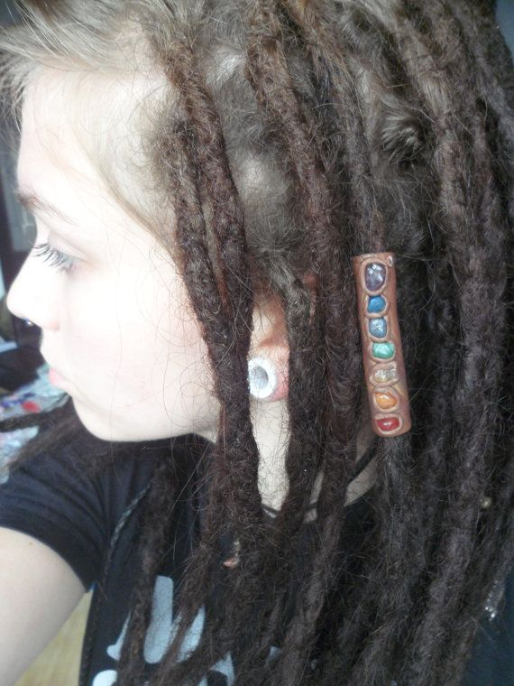 Handmade Clay Hair Bead