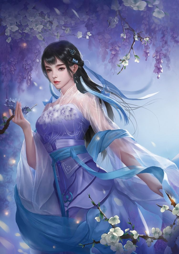 Картинки фэнтези азиатские девушки