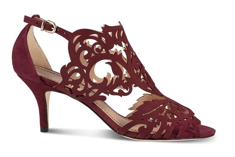 Marcela 3 Heel In 2020 Heels Burgundy Heels Burgundy Sandals