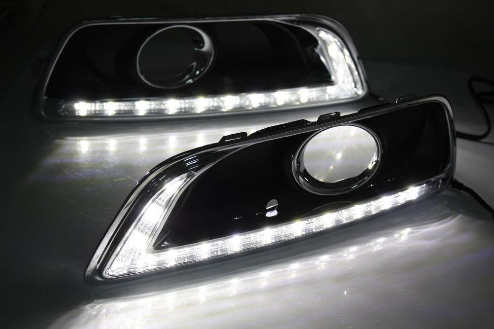 Led Daytime Running Light Fog Lamp Drl Kit For 2012 2014 Chevy Chevrolet Malibu Chevrolet Malibu Chevy Chevrolet Running Lights