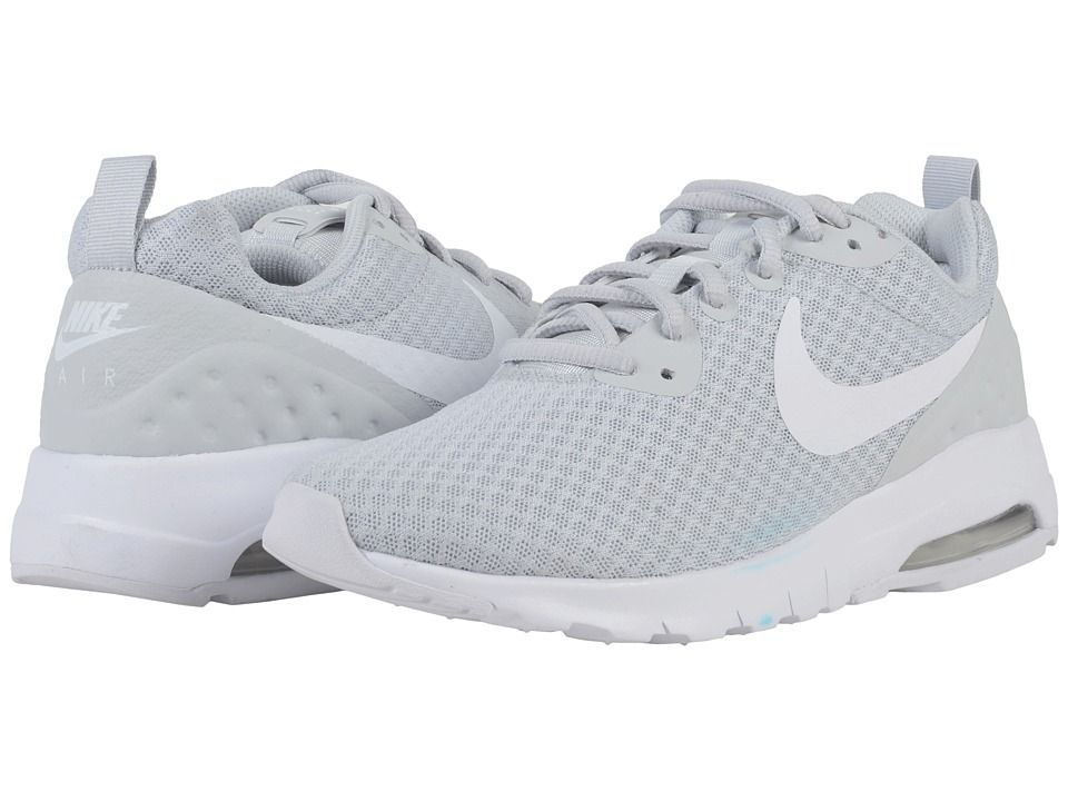 Nike Air Max Motion Lightweight LW Women s Shoes Pure Platinum White ... 97bede49202c0