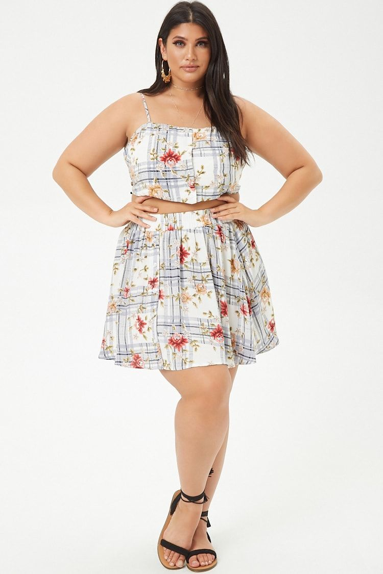 Park Art My WordPress Blog_Plaid Mini Dress Plus Size