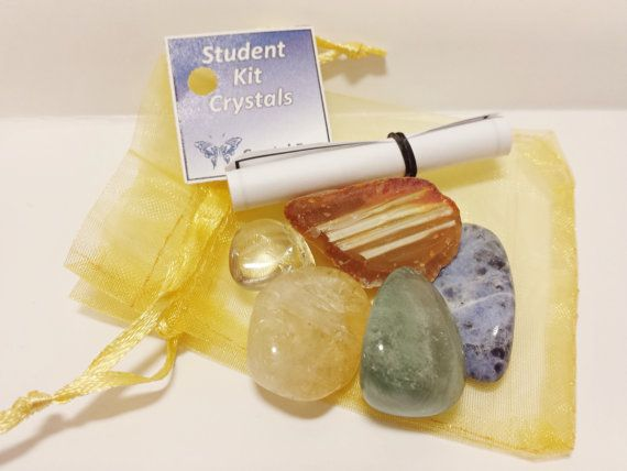Student Kit Crystals will work to support students on your their journies by enhancing concentration, optimisms, mental clarity, memory, allows you to