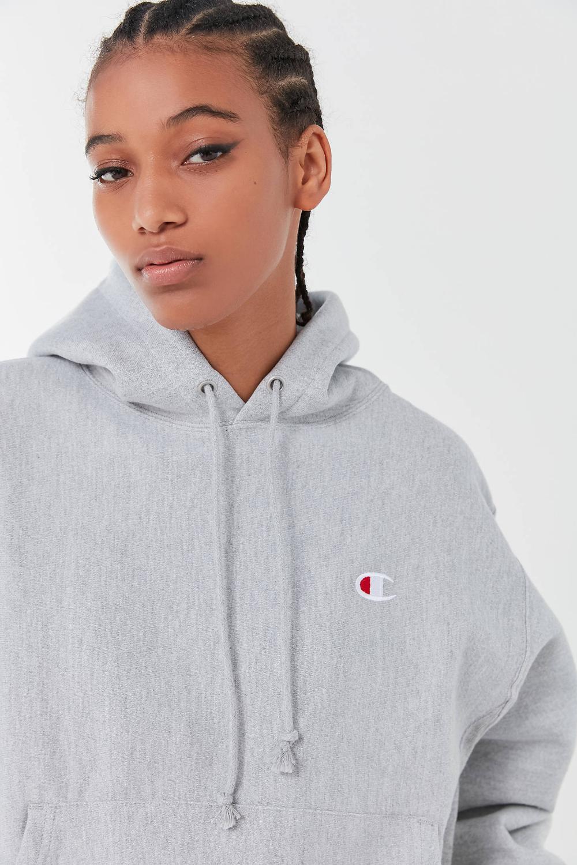 Champion Classic Logo Patch Hoodie Sweatshirt Sweatshirts Hoodie Patch Logo Hoodies [ 1500 x 1000 Pixel ]