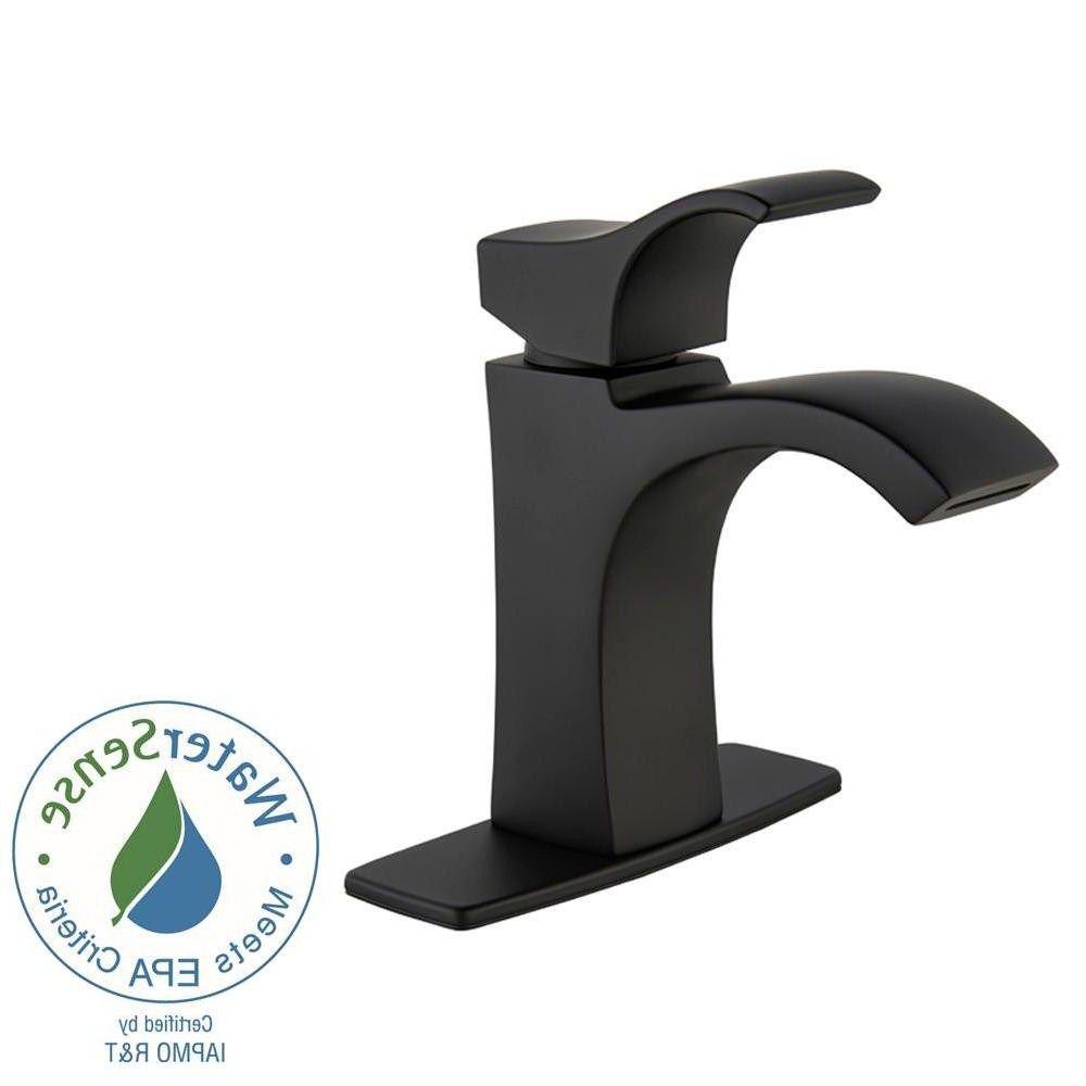 pfister venturi 4 in centerset single handle bathroom faucet in from ...