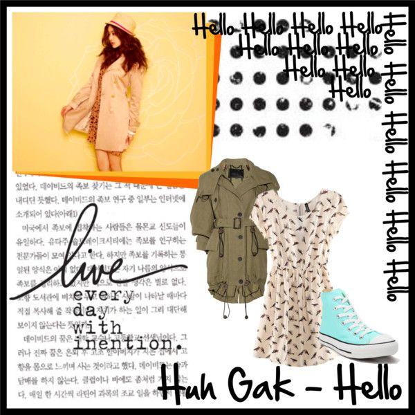 """Huh Gak Kang Sora Tribute"" by dbsksujub2stlover ❤ liked on Polyvore"
