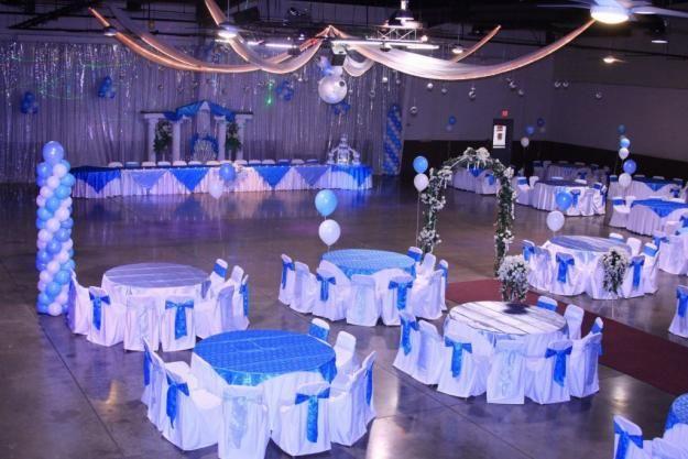 Fotos de fiestas de quinceaneras decoraci n de salones for Decoracion salon xv anos
