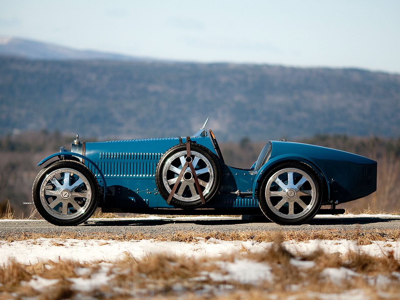 cool.  I don't know if it is, but it looks like an old Bugatti, or maybe even an…