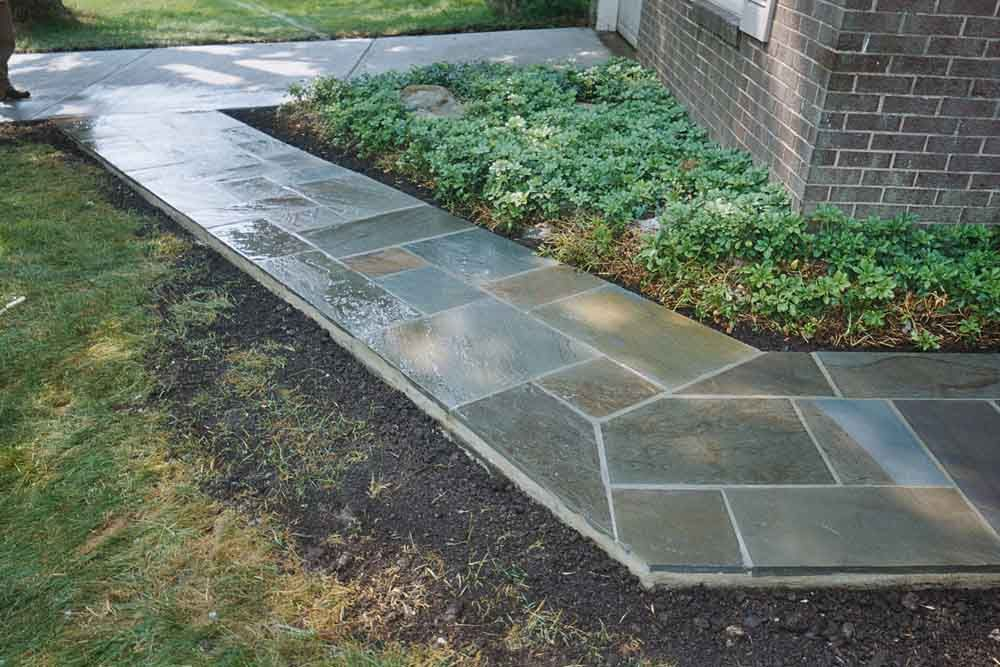 flagstone walkway google search happy garden pinterest pathways colors and flagstone walkway