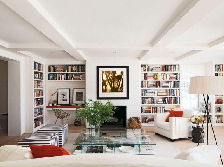 Photo of Libreria a parete: 25 Idee di Design per Arredare il Soggiorno