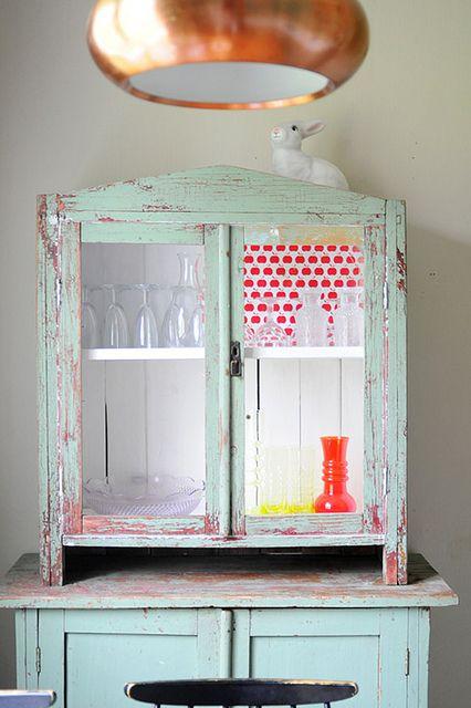 Kitchen cabinet by jutta / kootut murut, via Flickr
