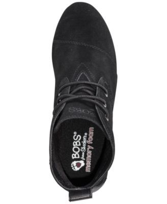 b38b49a27ad0 Skechers Women s Bobs High Peaks Ankle Boots from Finish Line - Black 6