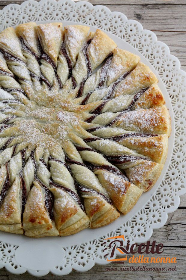 Pasta sfoglia alla nutella recipes