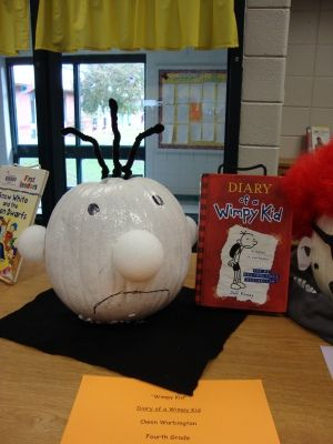Diary of a wimpy kid pumpkin kiddie crafts pinterest for Diary of a wimpy kid crafts