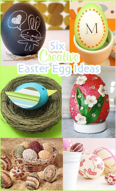 Six Creative Easter Egg Decorating Ideas - Second City Soiree ...