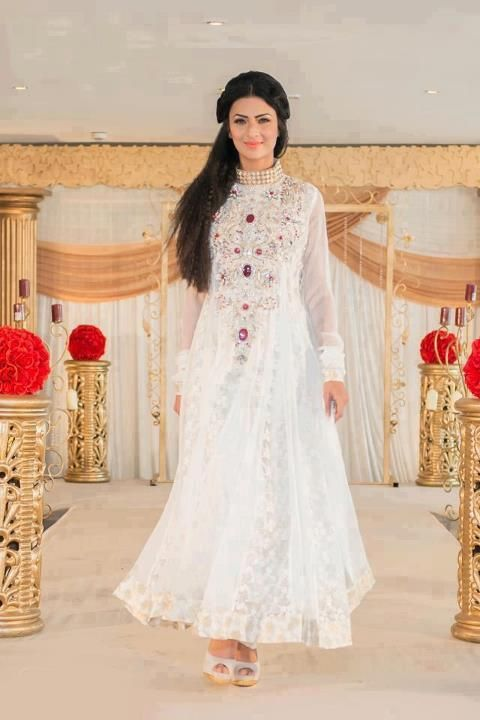 Pakistani eid designer dresses 2013 female fashion Pakistani fashion designers