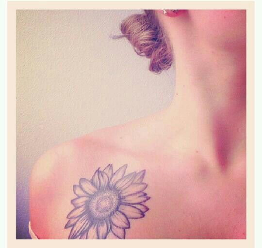 Small Sunflower Tattoo Meaning: Sunflower Tattoo! (With Images)