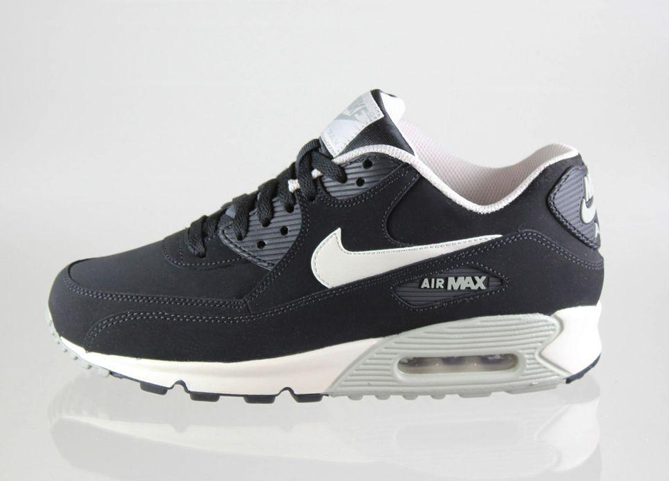 size 40 6af27 cb522 Nike Air Max 90 Essential LTR (Black   Mortar - Mine Grey)