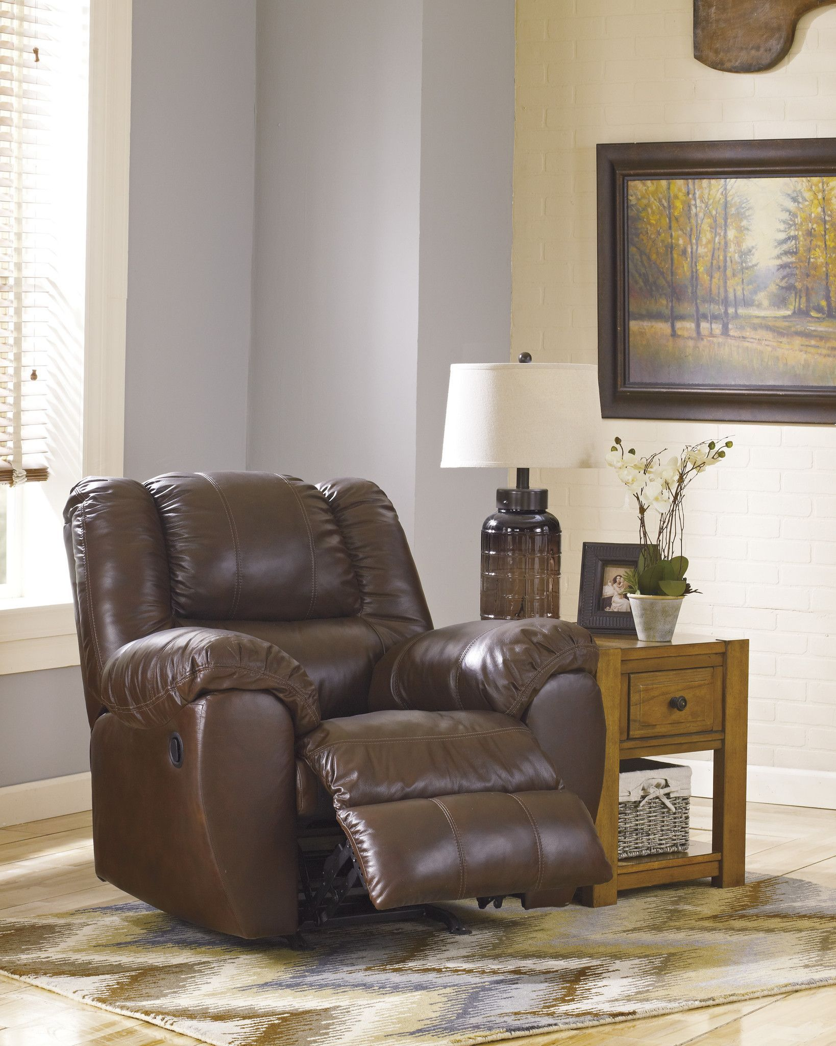 McAdams Power Rocker Recliner by Ashley Furniture at Kensington