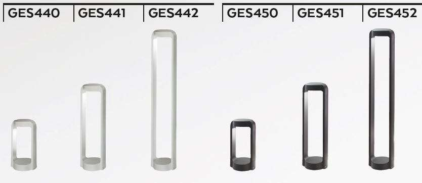 Ges Led Outdoor Bollard Light By Gea Led Bollard Lighting Outdoor Lamp Outdoor Path Lighting