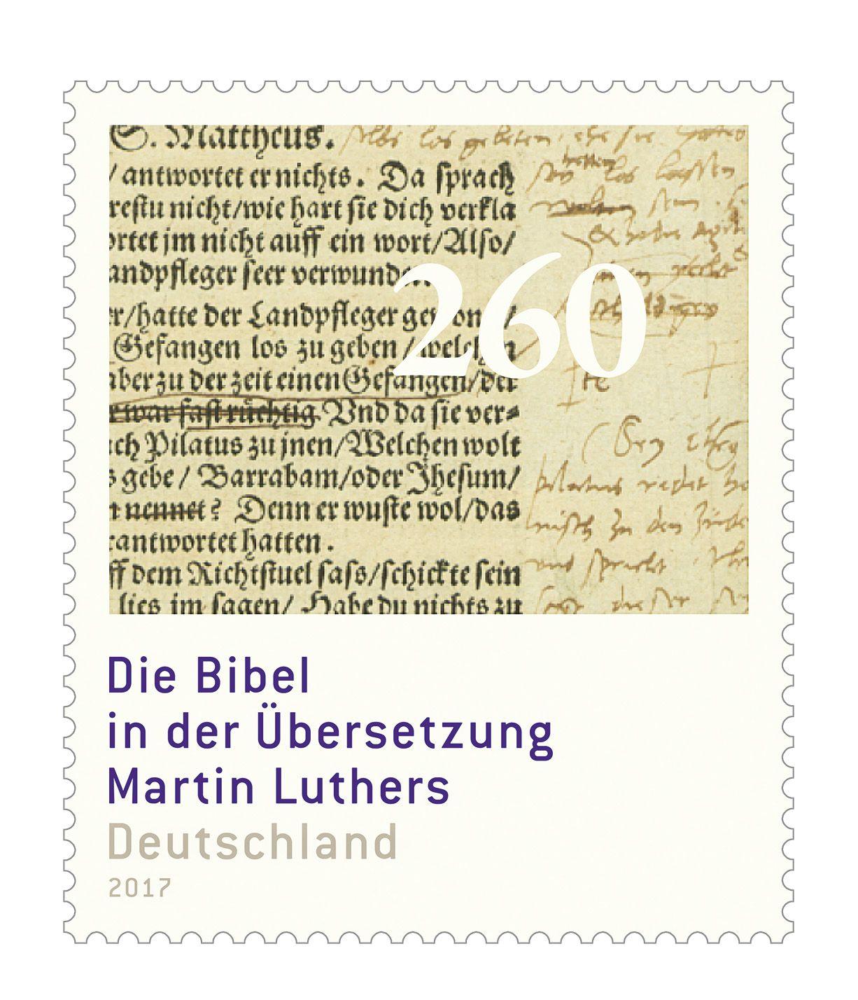 Deutschland 2017 Die Bibelubersetzung Martin Luthers German