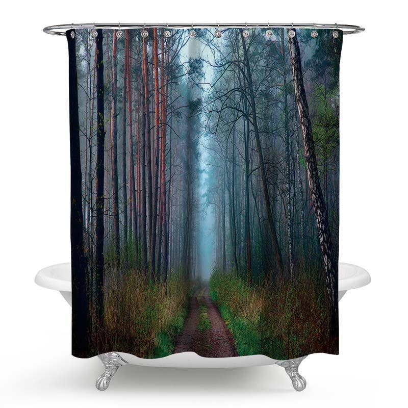 Schoner Duschvorhang Von Wunderbarer Landschaft Motiv Wasserdicht