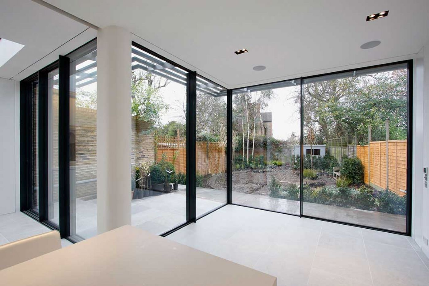 This Rear Kitchen Dining Living Extension In South West London
