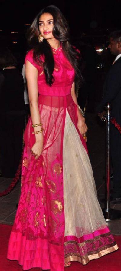 My Fashion Lookbook - Pink Love-Athiya Shetty   IndiaRush