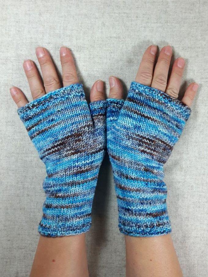 Handschuhe für Damen Türkis und Braun | Handschuh, Türkis und Braun