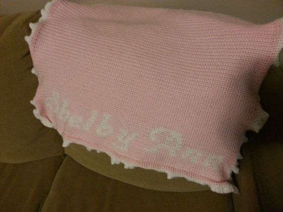 Cute Personalized Baby Blanket