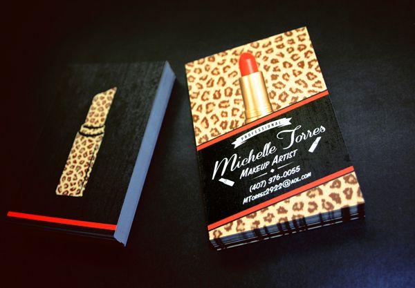 Makeup artist business card by michael jimenez via behance career makeup artist business card by michael jimenez via behance colourmoves