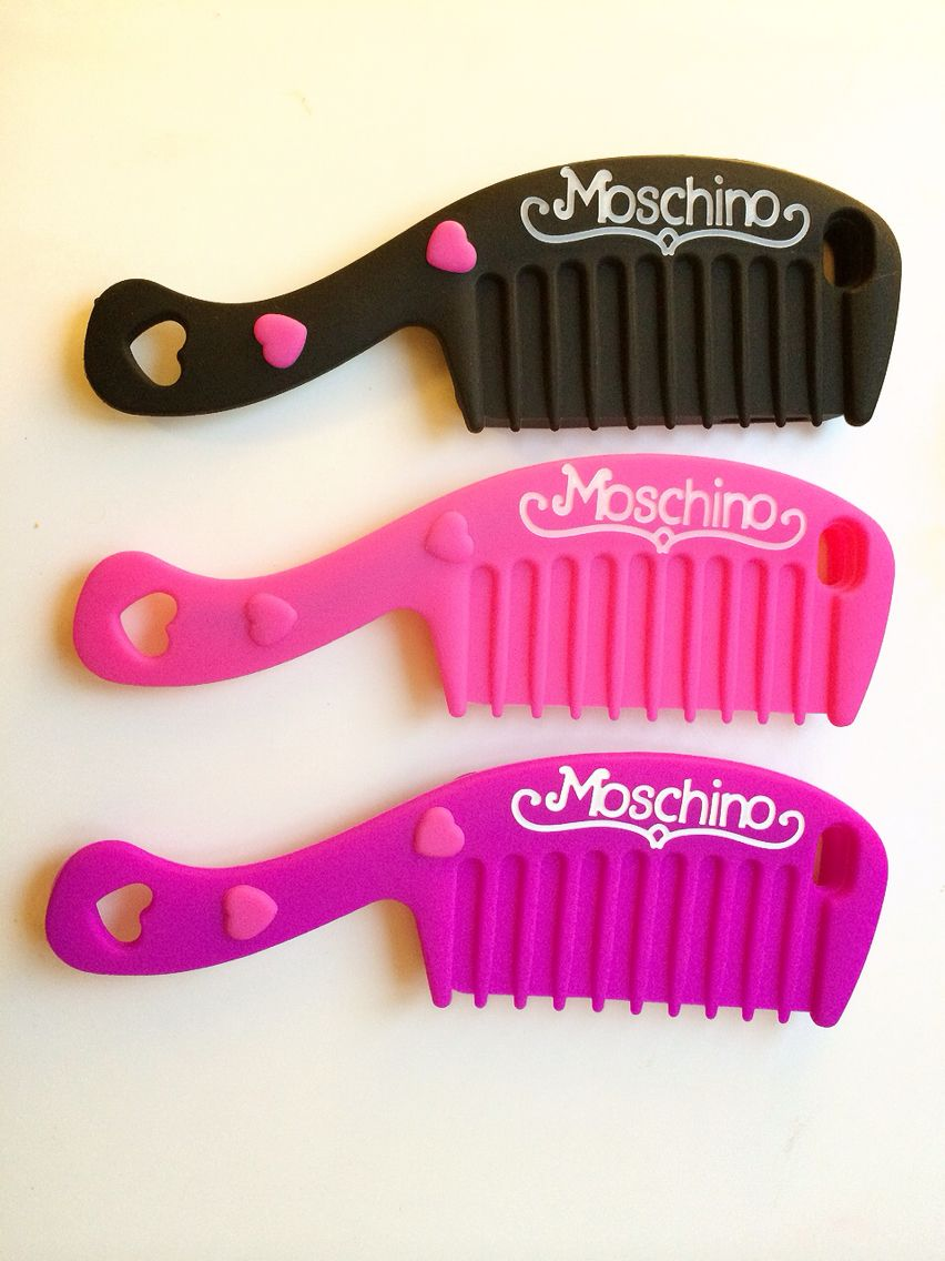 moschino barbie princess comb brush novelty iphone 5 iphone 6 case buy from. Black Bedroom Furniture Sets. Home Design Ideas