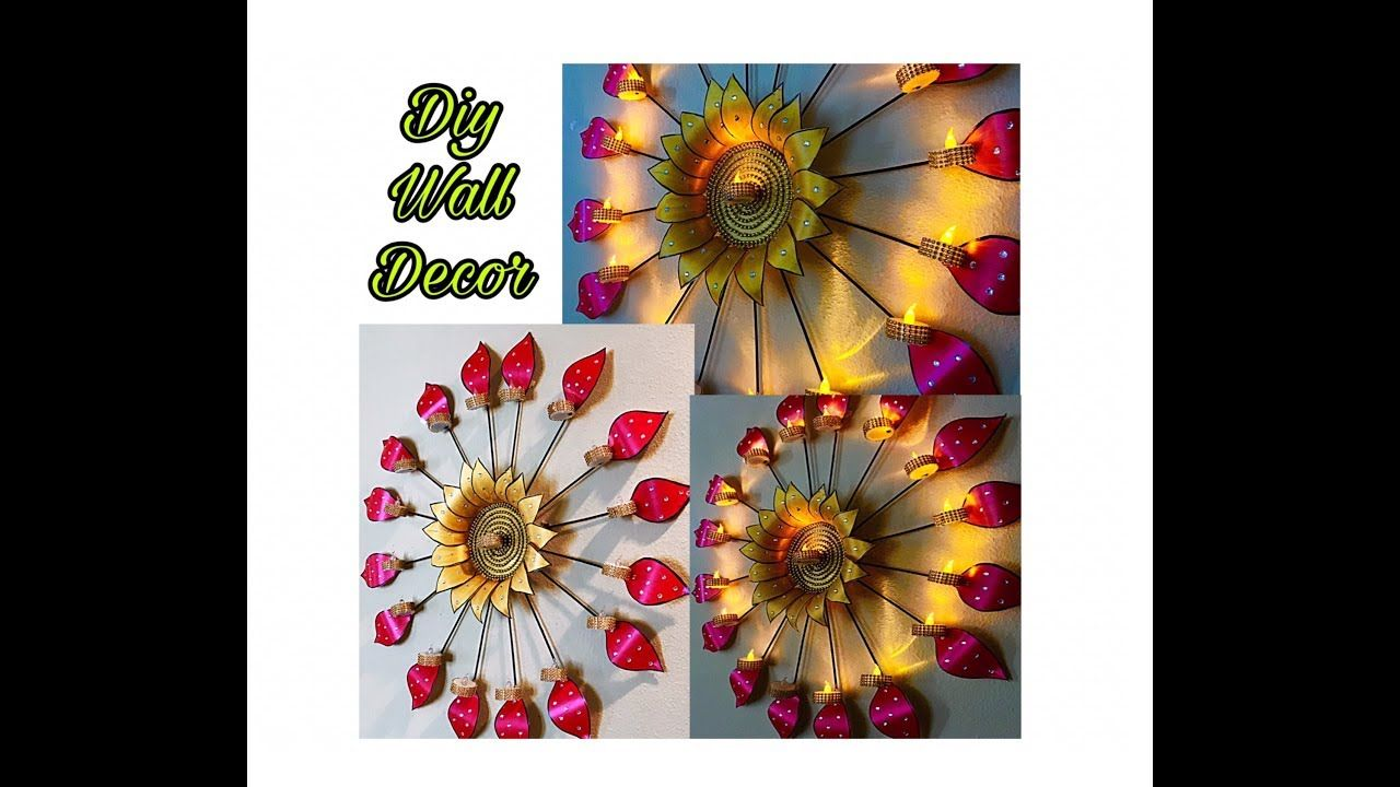 Unique Wall Hanging Craft Fashion Pixies Diwali Decoration Idea