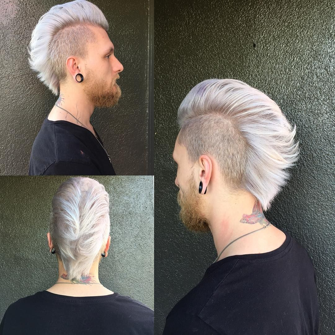 Liberated Salon On Instagram This Magic Is Thanks To Kavella Volumizing Shampoo And The Handy Work Of Je Mohawk Hairstyles Hair Styles Mohawk Hairstyles Men