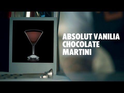 Recipe Absolut Vanilia Chocolate Martini - Absolut Drinks