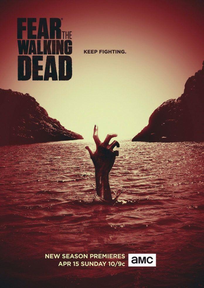 Fear The Walking Dead 4ª Temporada   Revelado o primeiro poster ...