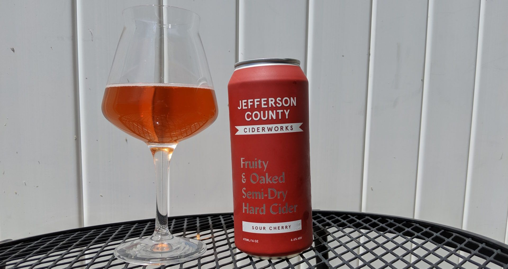 Review Oaked Sour Cherry By Jefferson County Ciderworks Sour Cherry Cider Maker Hard Cider