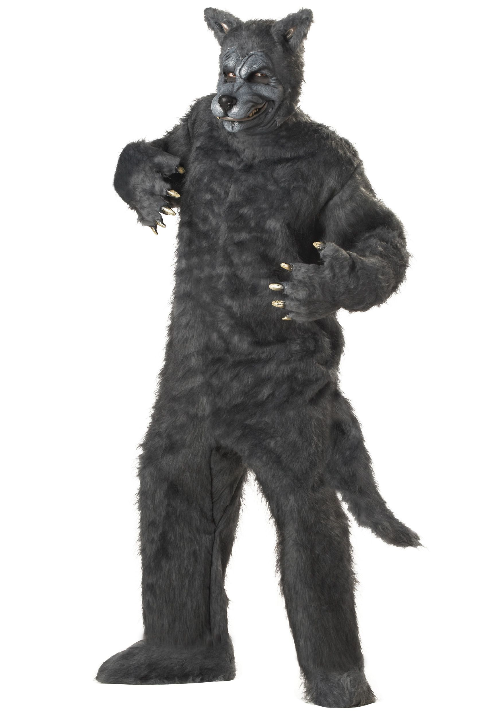 Adult Big Bad Wolf Costume | Big bad wolf costume, Wolf costume ...